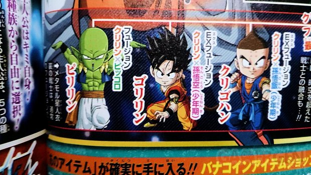 Dragon ball fusions Krilin