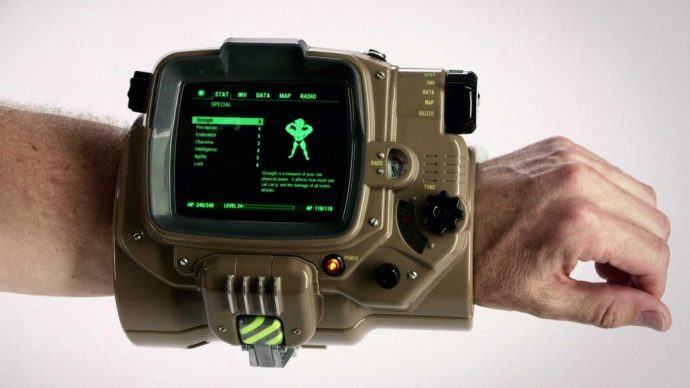Pipboy collector de Fallout 4
