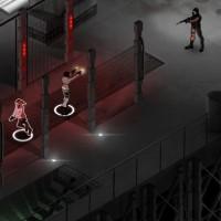 Hana et Rain de Fear Effect Sedna affrontent des ennemis dans une usine