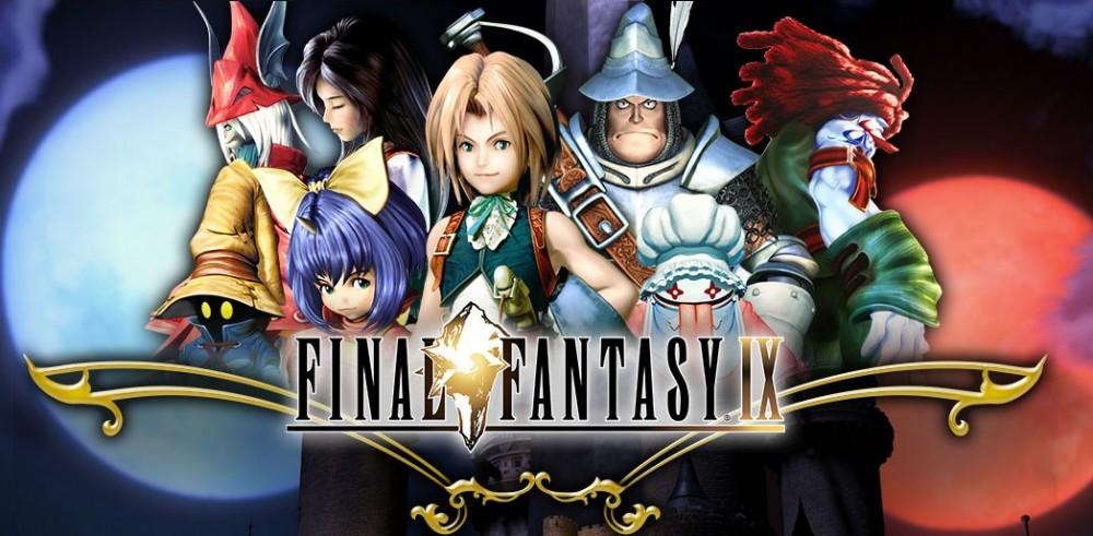 Final Fantasy IX logo pc