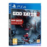 God Eater 2 Rage Burst jaquette PS4
