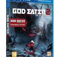 God Eater 2 Rage Burst jaquette Vita