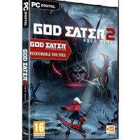 God Eater 2 Rage Burst jaquette PC Digital