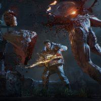 Gears of War 4 locuste découpé avec la tronçonneuse
