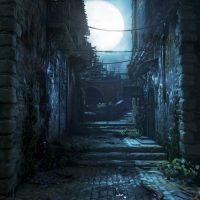 Gears of War 4 ruelle sombre de nuit