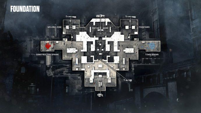 Beta Gears of War 4 carte foundation