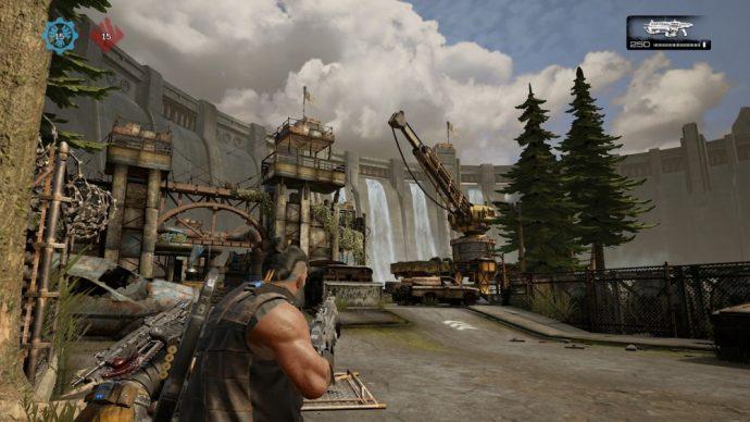 Beta Gears of War 4 En jeu