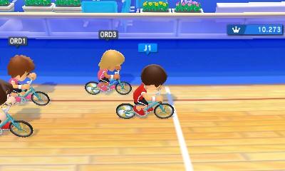 Cyclisme sur piste dans Mario