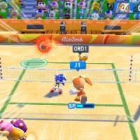 Beach volley dans Mario & Sonic aux Jeux Olympiques de Rio 2016