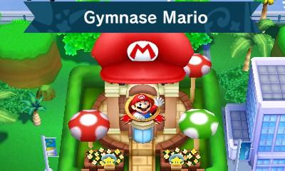 Gymnase Mario dans Mario & Sonic aux Jeux Olympiques de Rio 2016
