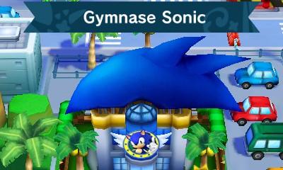 Gymnase Sonic dans Mario & Sonic aux Jeux Olympiques de Rio 2016