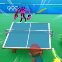 Tennis de table dans Mario & Sonic aux Jeux Olympiques de Rio 2016