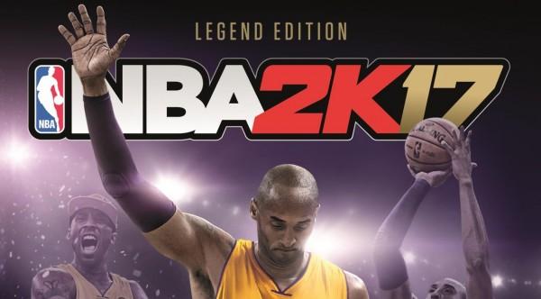 Kobe Bryant dans l'édition légende de NBA 2K17