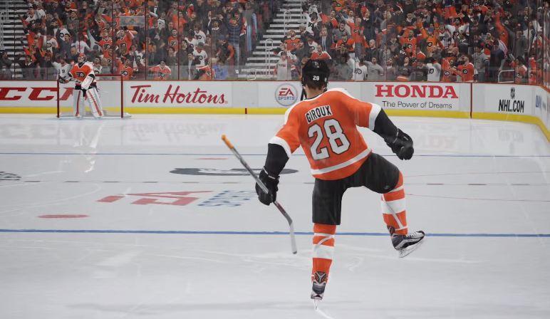 Giroux dans NHL 17