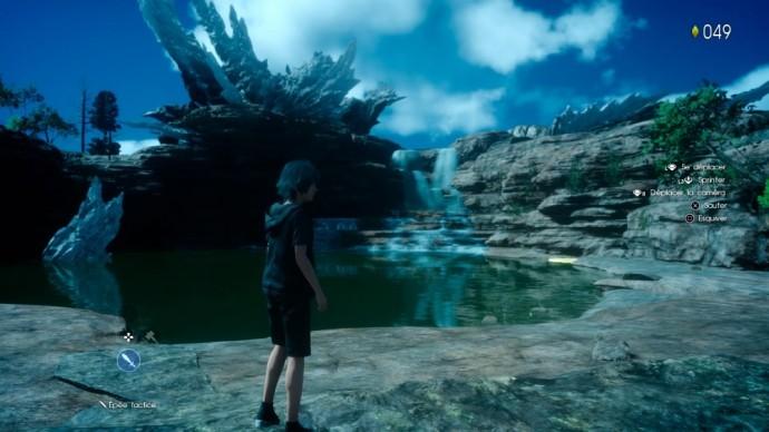 Noctis au bord de l'eau