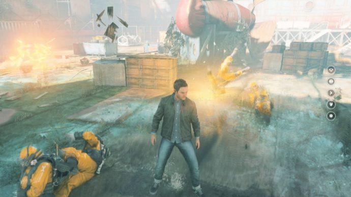 Quantum Break Combat