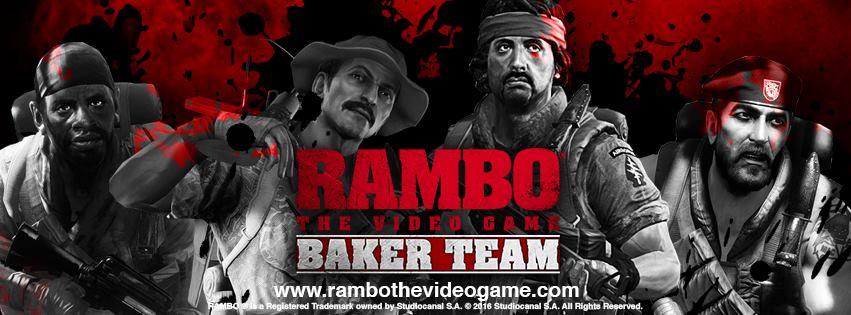 Rambo The Video Game dlc Baker Team