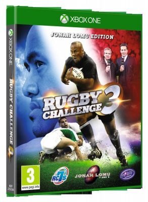 Jaquette Xbox One de Rugby Challenge 3: Jonah Lomu Edition