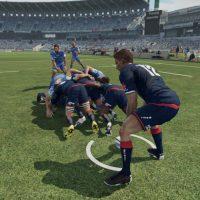 Mêlée au rugby à 7 dans Rugby Challenge 3: Jonah Lomu Edition
