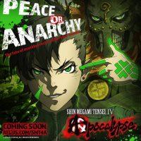 Shin Megami Tensei IV Apocalypse paix ou anarchy