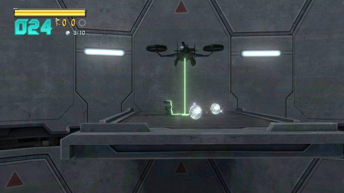 Star Fox Zero - Vision externe du vaisseau