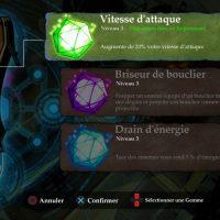 Stories: The Path of Destinies le gants aux gemmes magiques