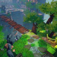 Stories: The Path of Destinies un décors verdoyant