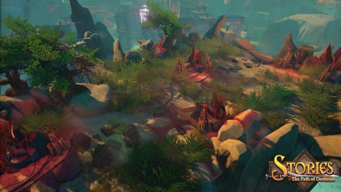Stories: The Path of Destinies un niveau plus desertique