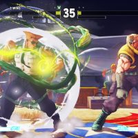 Screenshot de Guile, personnage de Street Fighter V