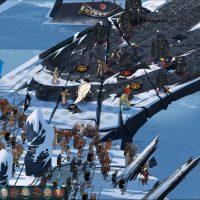 The Banner Saga 2 combat contre dredges