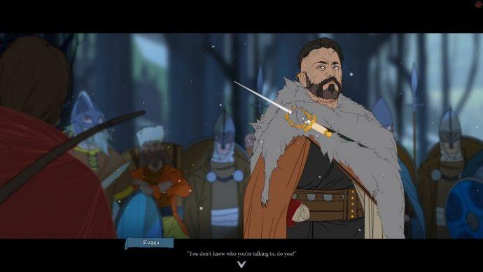 Un viking de The banner Saga 2
