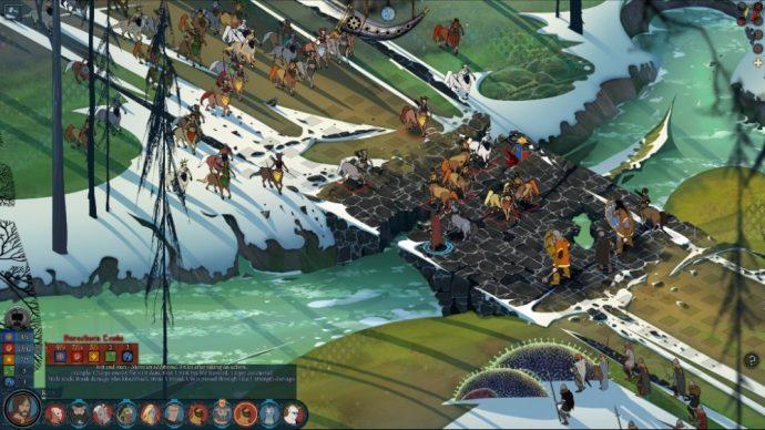une bataille de the banner saga 2