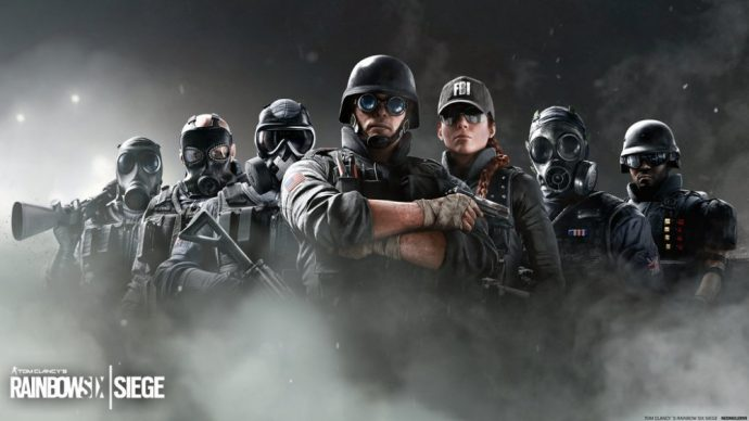 Les différentes forces d'intervention disponibles pour Tom Clancy's Rainbow Six: Siege