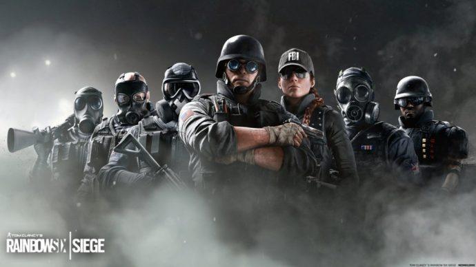 Les différentes forces d'intervention disponibles pour Tom Clancy's Rainbow Six: Siege