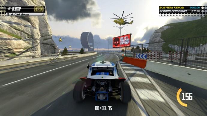 Au volant de TrackMania Turbo