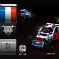 Le garage de TrackMania Turbo
