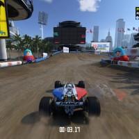 Une formule 1 dans TrackMania Turbo