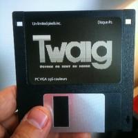 Twaig disquette de l'original de 1992