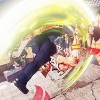 Guile utilise son Flash Kick sur Zangief