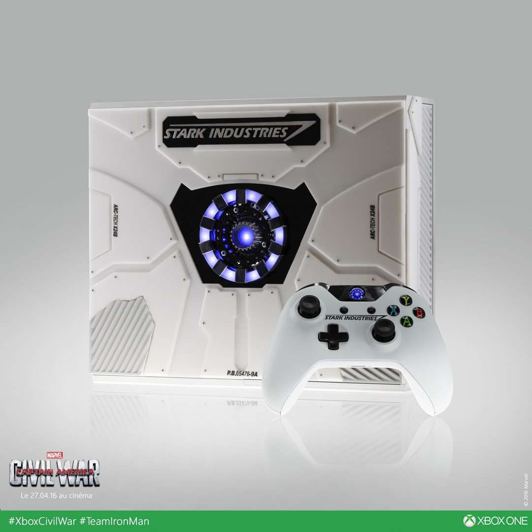 Xbox One collector Iron Man