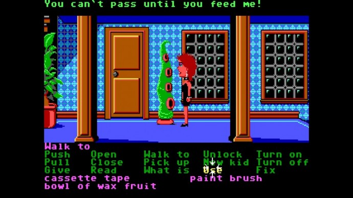 Day of the Tentacle Maniac Mansion