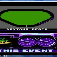 Le circuit de Daytona sur Days of Thunder