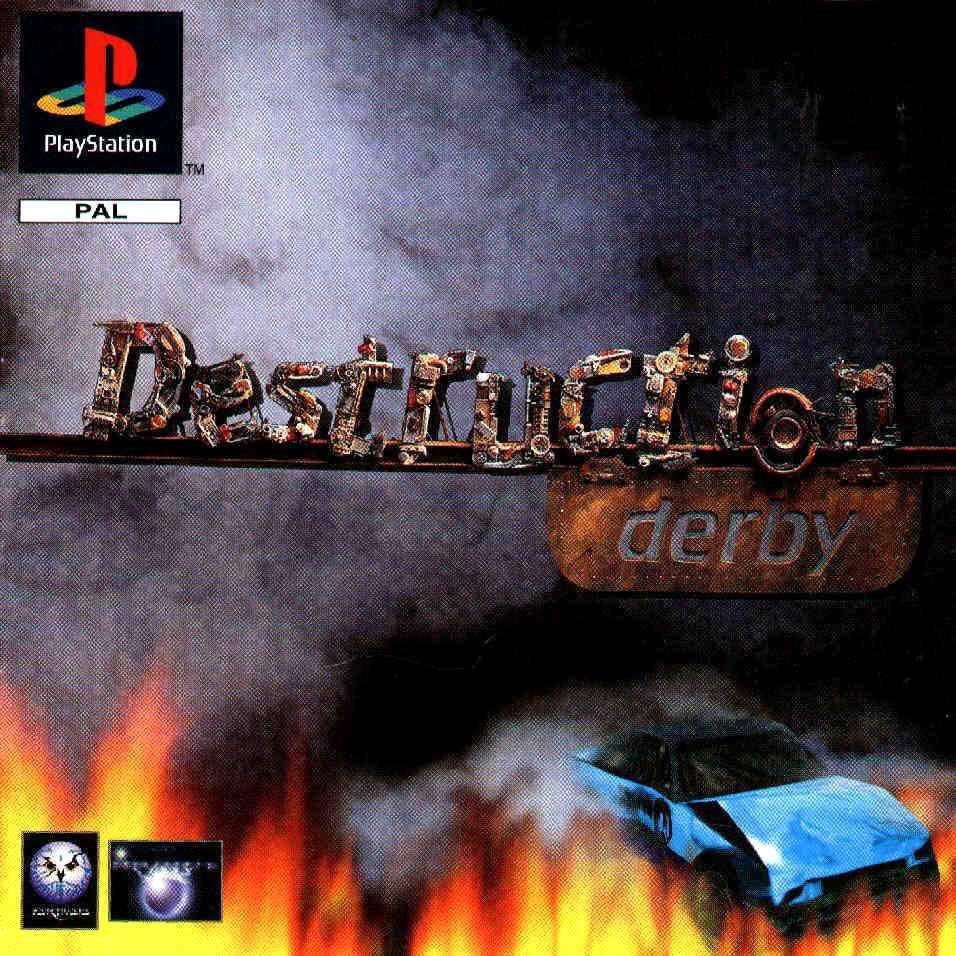 Image result for Destruction Derby (1995)