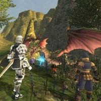 Un combat dans Final Fantasy XI