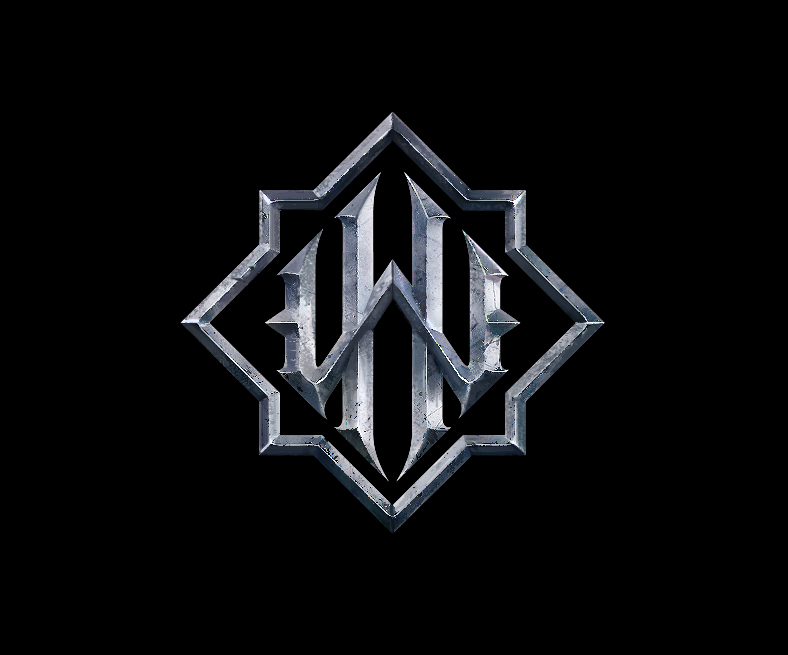 Warhold logo noir et metal