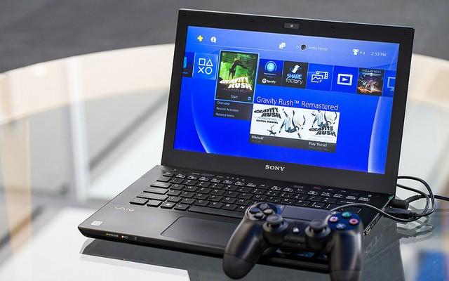 mise à jour 3.50 manette PS4 branchée au PC portable avec la lecture à distance