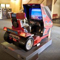 La borne d'arcade d'Outrun