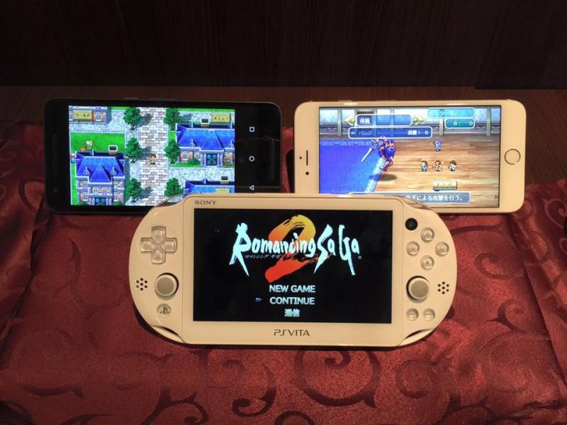 Romancing SaGa 2 les versions Vita et mobiles