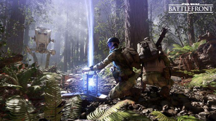Des nouveautés pour le jeu Star Wars Battlefront
