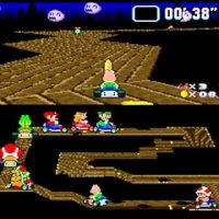 Koopoa dans la vallée fantôme de Super Mario Kart